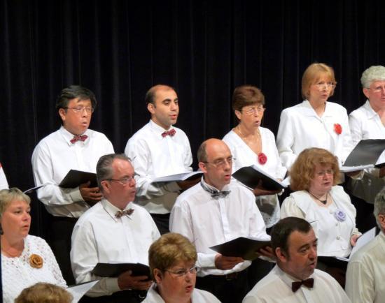 Concert des Tournesols d'Antony à Vichy