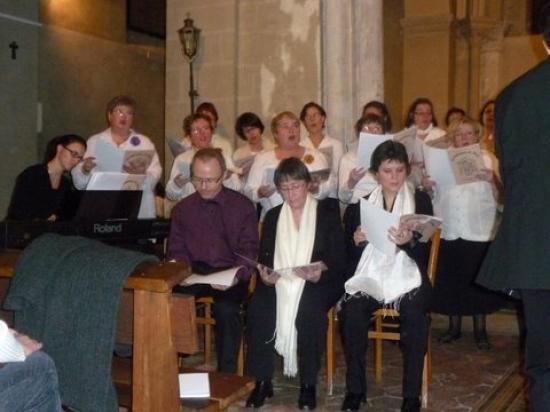 Concert de Noel : 3 solistes de la chorale